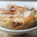 Apfel-Quark-Kuchen mit Filoteig