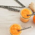 Smoothie mit Orange, Karotte und Ingwer