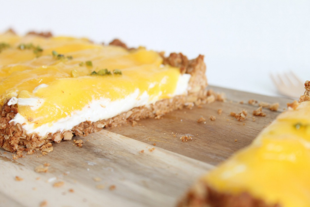 Mangotarte, Mango-Tarte, Müslikuchen, Müslitarte