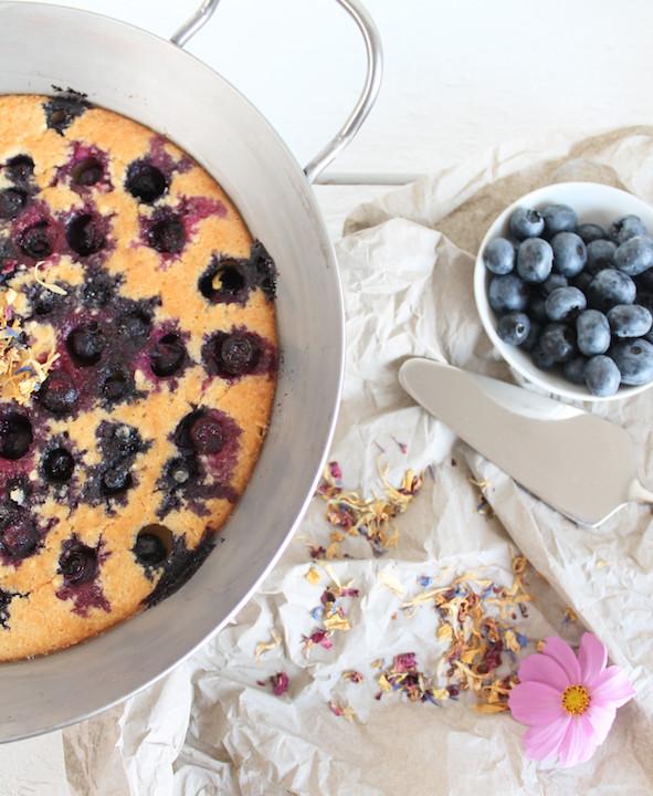Heidelbeer-Pfannkuchen