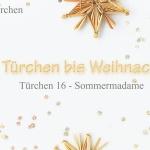 Weihnachtliche mini Marzipan Franzbrötchen