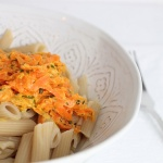 Nudeln mit Karotten
