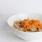 Nudeln mit Karotten – Schnelles Pastagericht