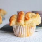 Pulled apart Muffins mit Vanillepudding