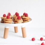 Mini-Pancakes – Pancaketürmchen – Frühstückspancakes