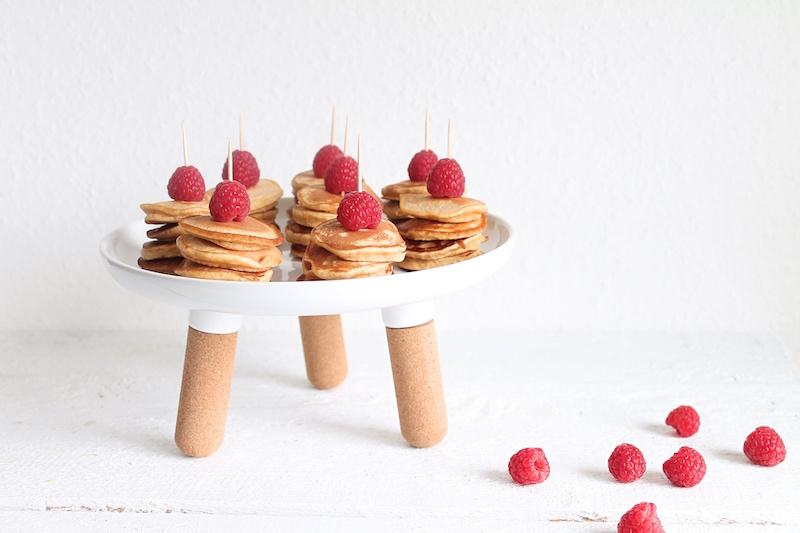 Pancaketürmchen, Pancakes, Minipancakes, Muttertagspancakes