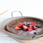 Schokoladen Dutch Baby – riesen Pancake – Ofenpfannkuchen