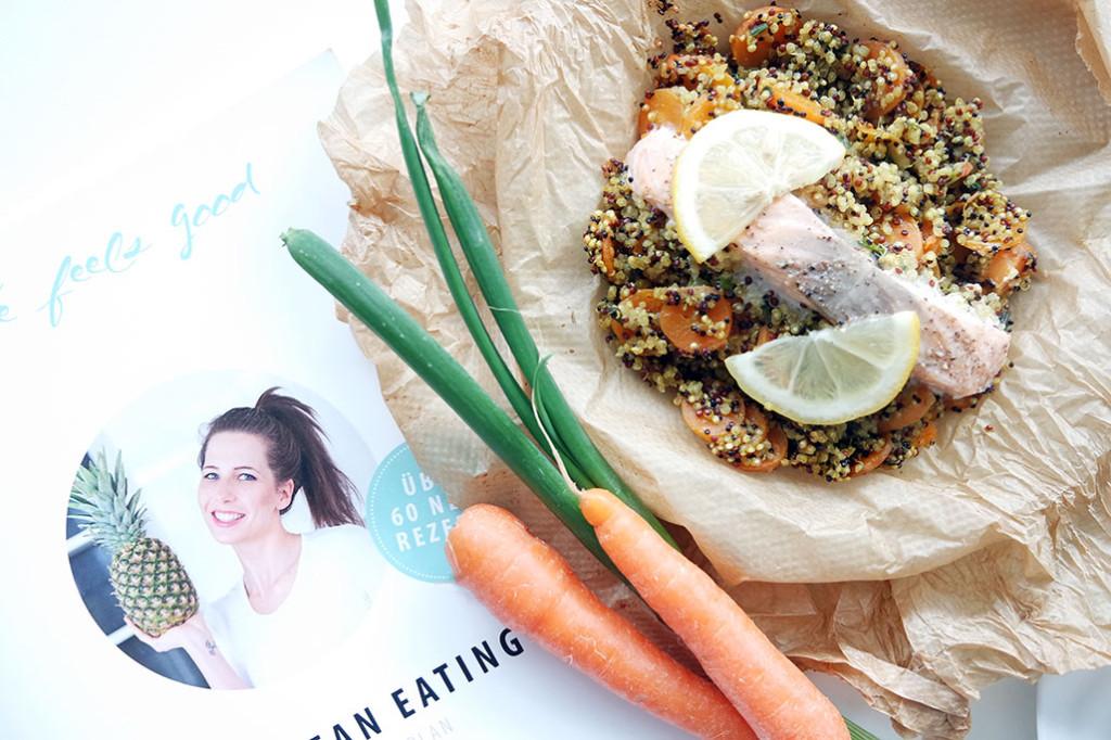 Wochenspeiseplan - Quinoa-Lachs-Päckchen