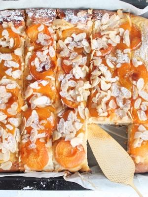 gesunder Aprikosenkuchen