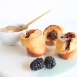 Popover mit Brombeeren, Besondere Eierkuchen-Muffins