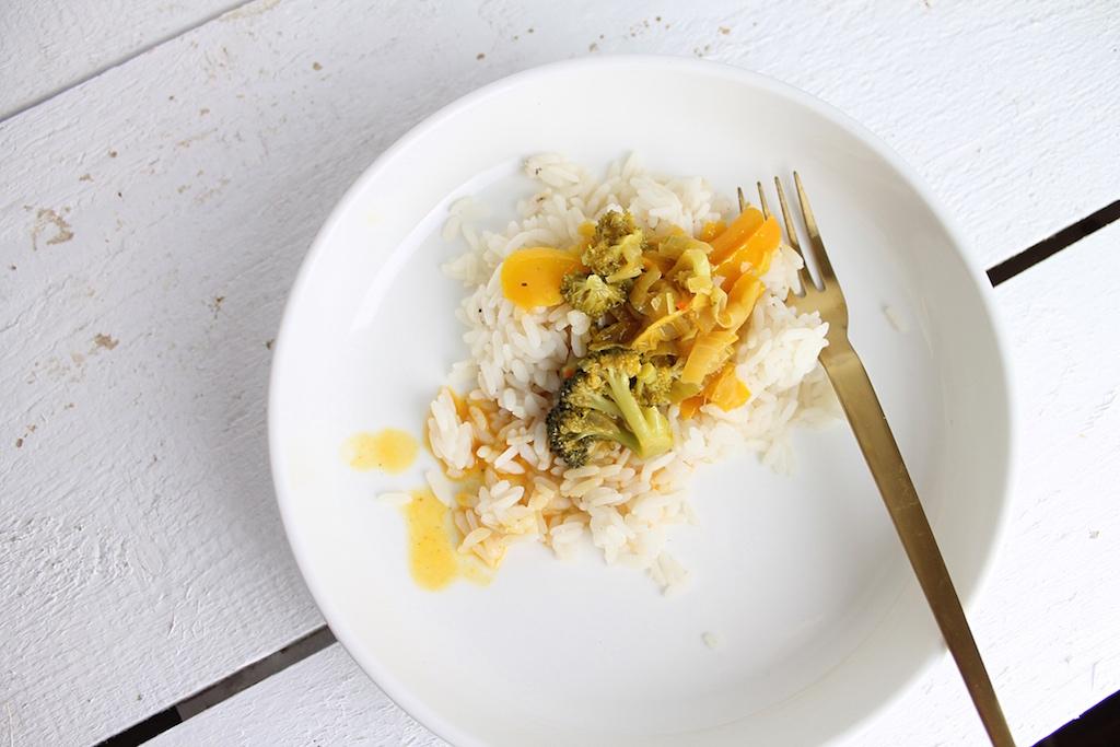 einfaches Gemüsecurry