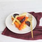 Wurzelgemüse aus dem Ofen mit Feta – Ofengemüse mit Kürbis