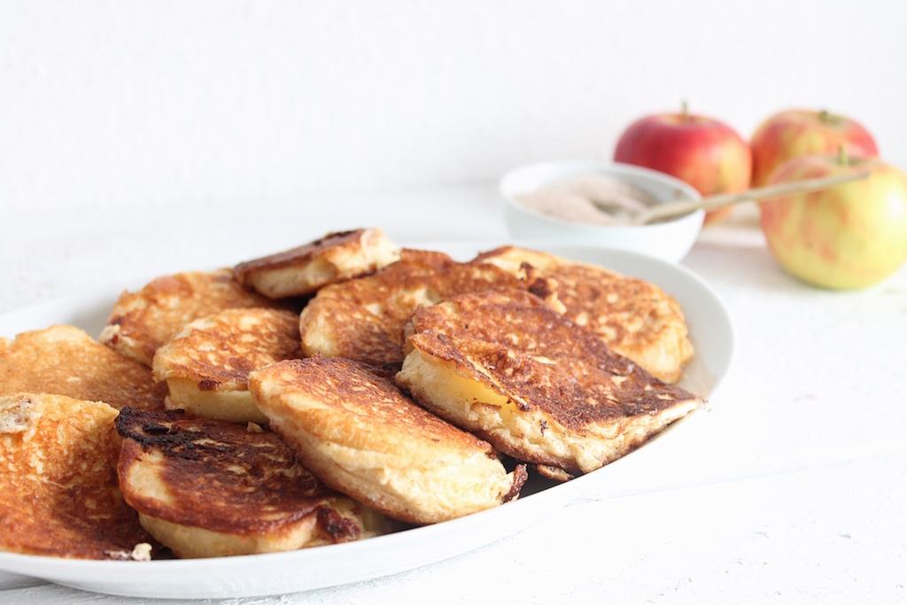 Apfelküchle ohne zucker