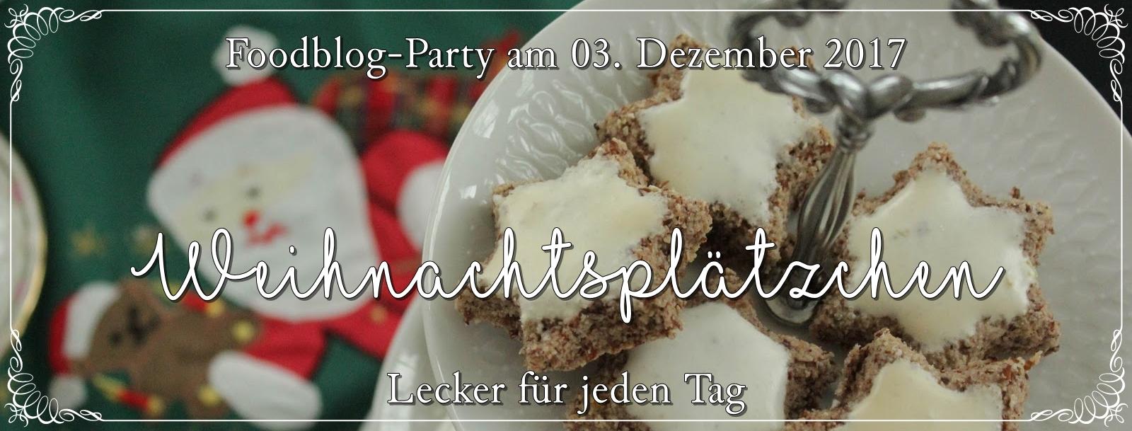 Foodlbogparty - Plaetzchenrezepte