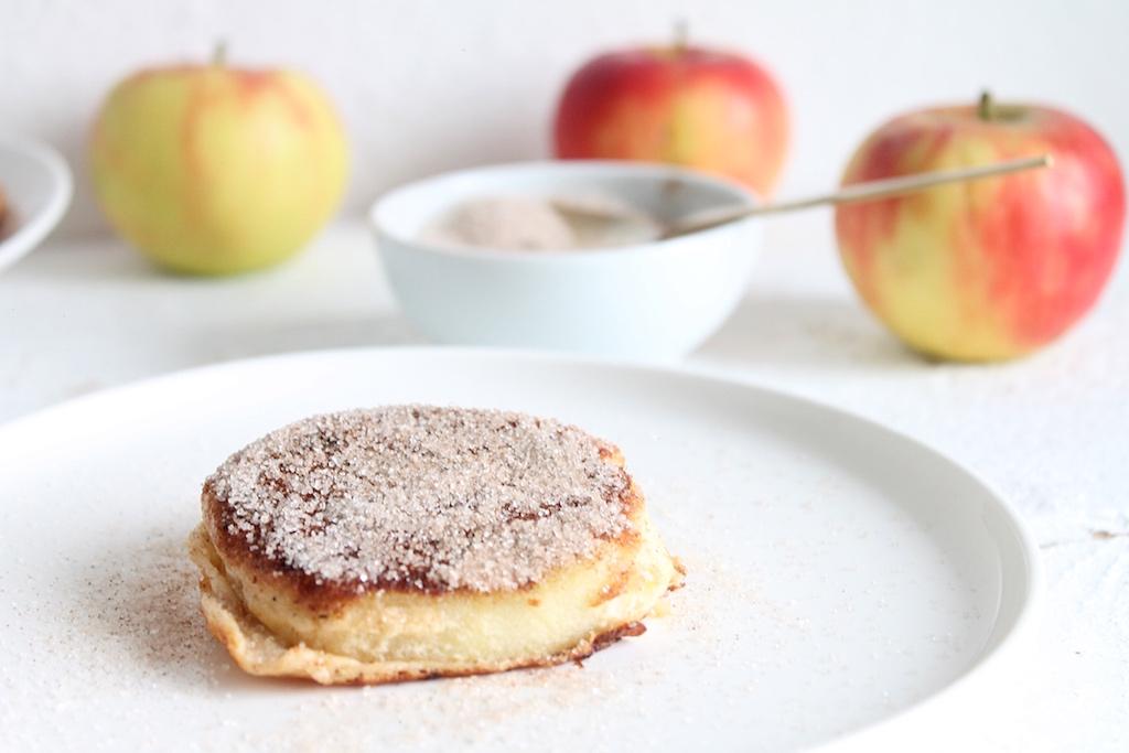Gesunde Apfelküchle ohne zucker