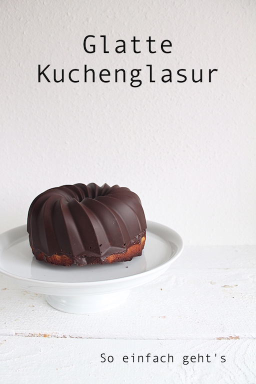 Marmorkuchen - perfekte Glasur