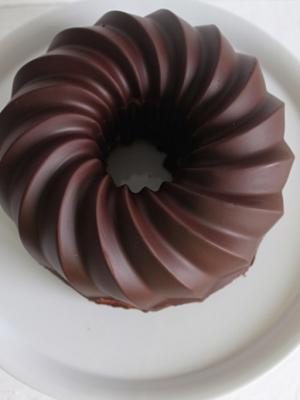 Marmorkuchen ohne Ei - die perfekte Glasur