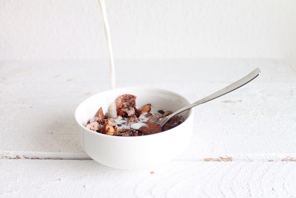 Schokoladen-Nuss-Granola