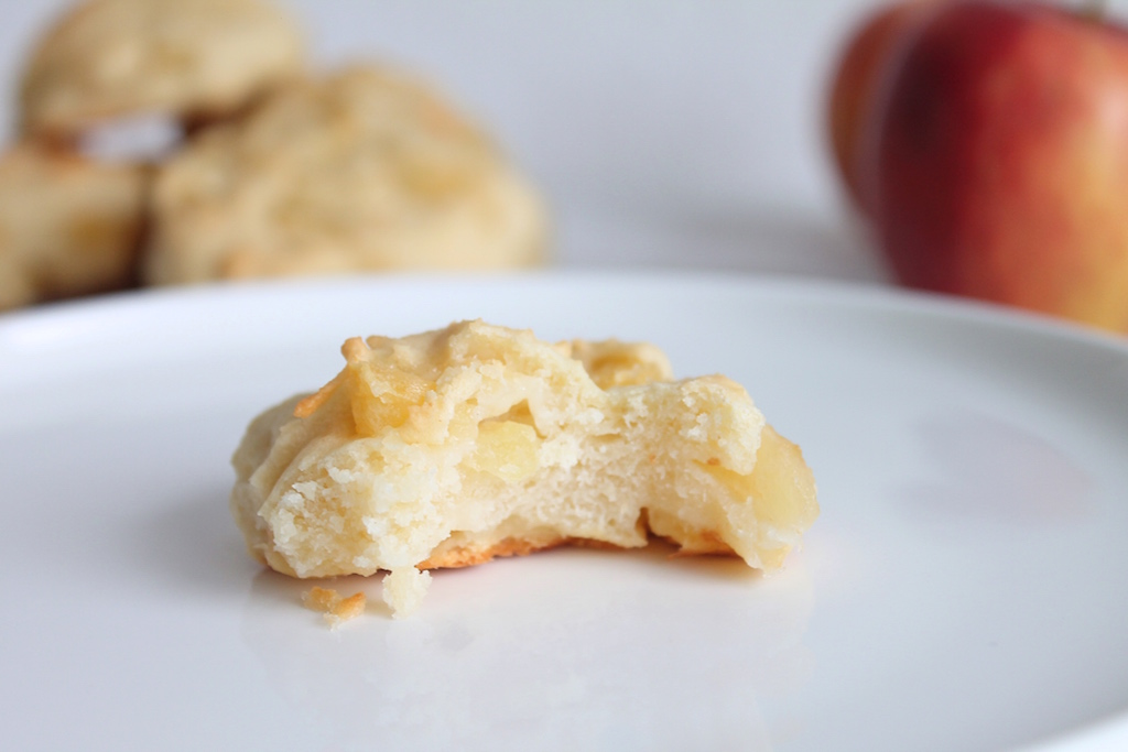 Quarkbrötchen mit Apfel