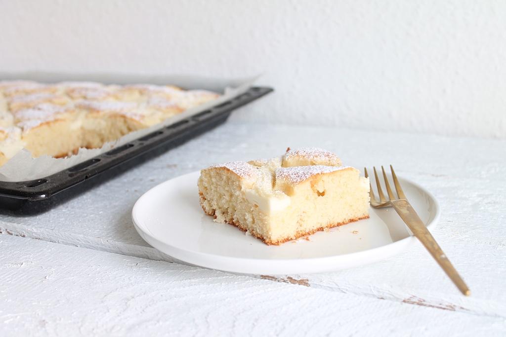 Blechkuchen mit Quark, Steppdeckenkuchen