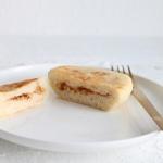 Hefepancakes mit einer Nussfüllung oder auch Hotteok
