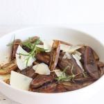 Auberginen-Vorspeise mit Parmesan – Antipasti