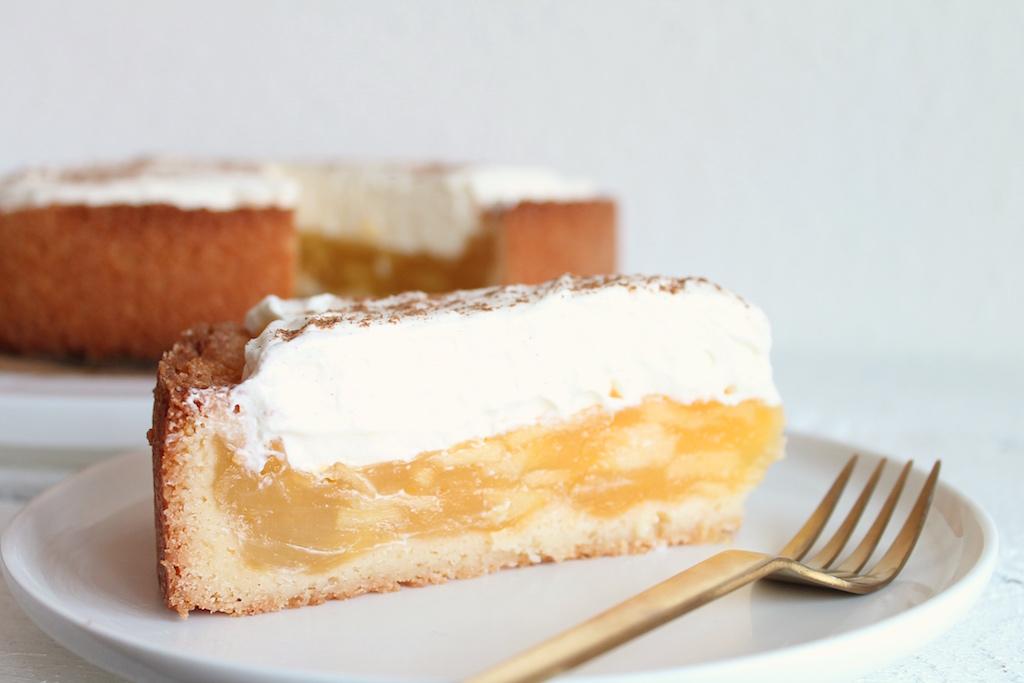 Apfelkuchen Apfel Schmand Kuchen