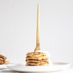 Hirsepancakes, Hirsepuffer zum Frühstück oder zum Mittagessen